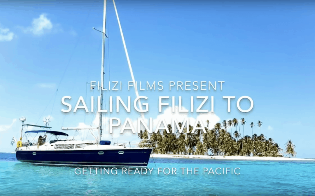 Sailing Filizi to Panama – The movie