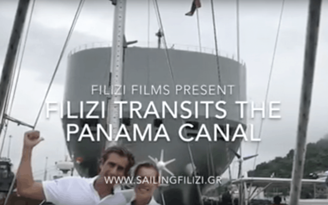 Filizi transits the Panama Canal movie
