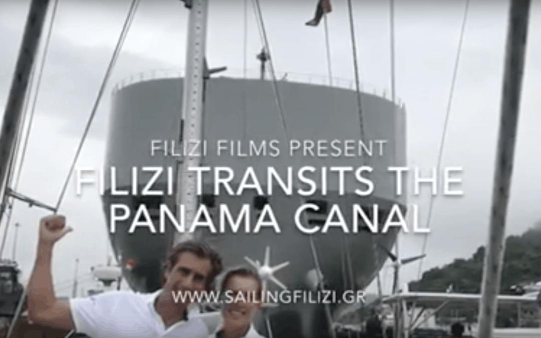 Filizi transits the Panama Canal movie