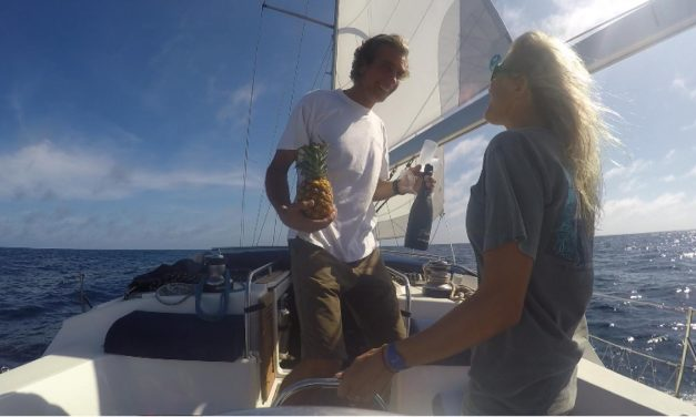 Sailing to Galapagos movie