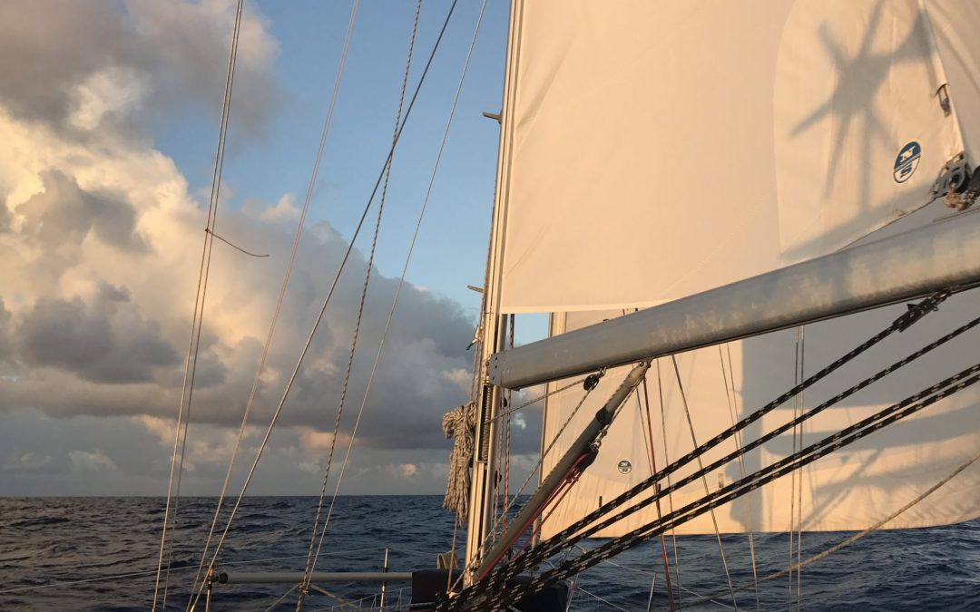 Sailing  from  Marquesas to Tuamotus Days 1-2