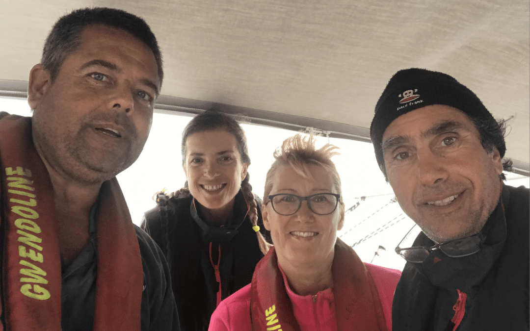 Sailing from Niue to Tonga and the rescue of Gwendoline M crew