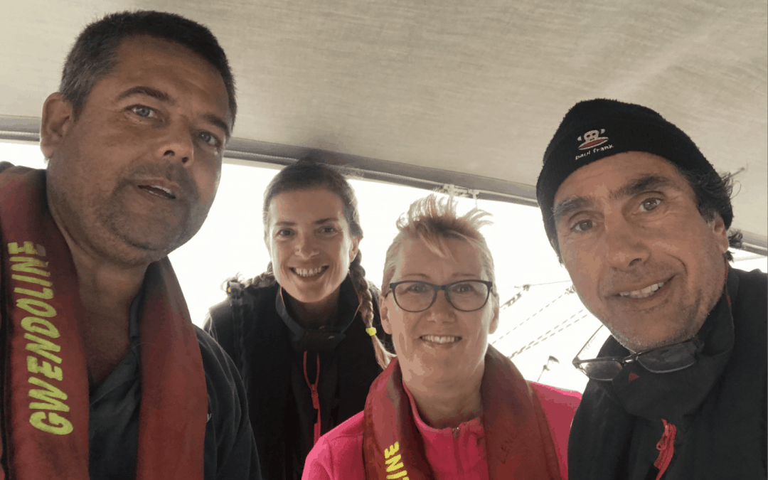 76 Sailing from Niue to Tonga and the rescue of Gwendoline M crew