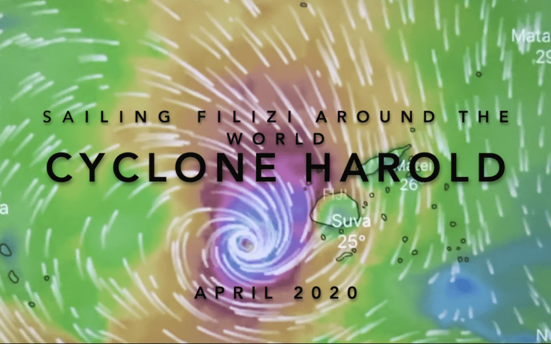 Sailing Filizi and Cyclone Harold-  Movie